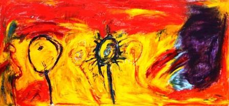 Peinture Caroline Mabille